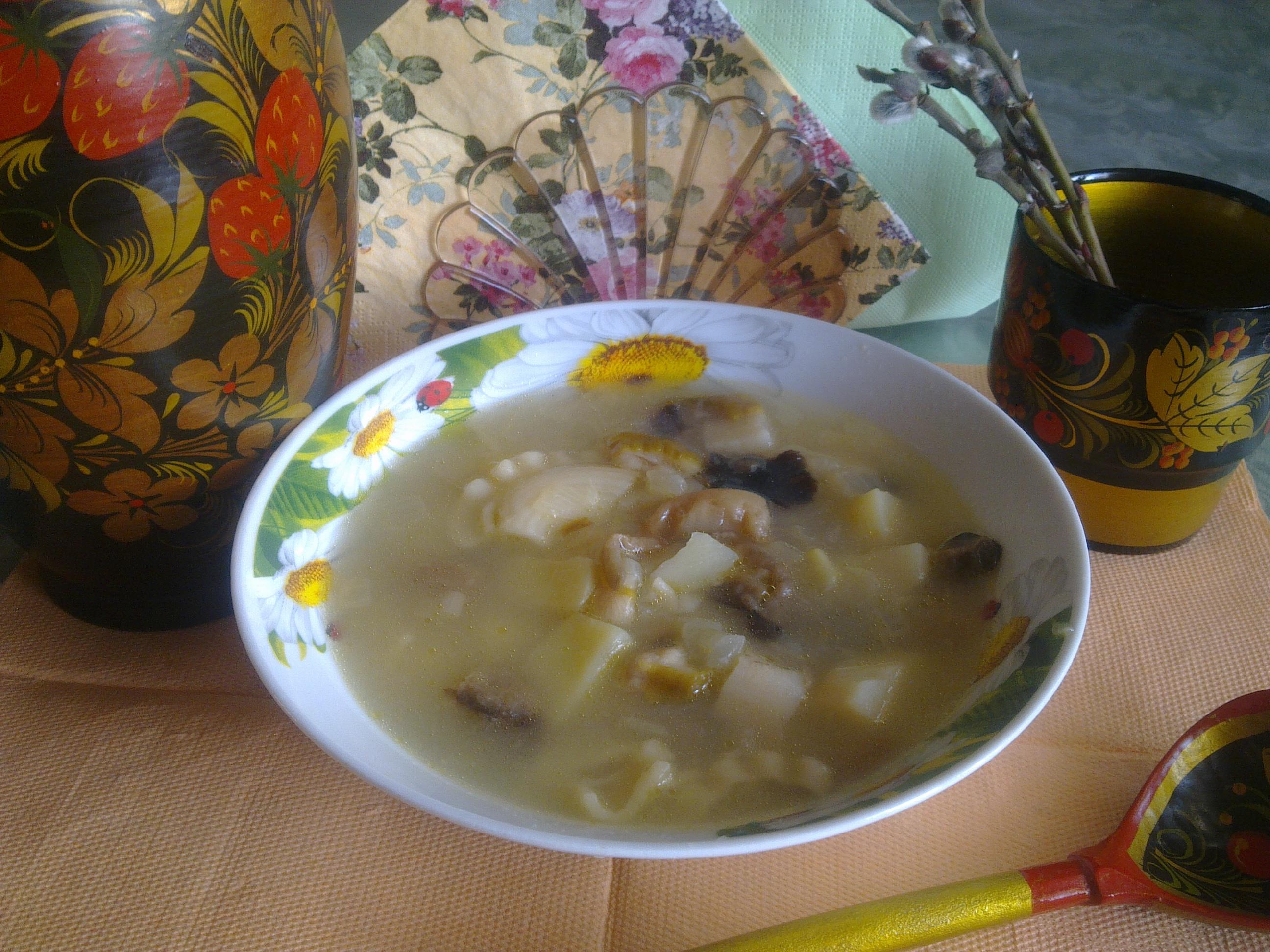 Суп из консервы сайры рецепт пошагово в