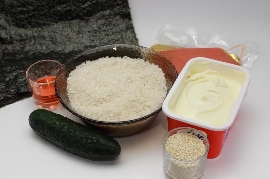 Как приготовить роллы КАЛИФОРНИЯ дома, рис.1