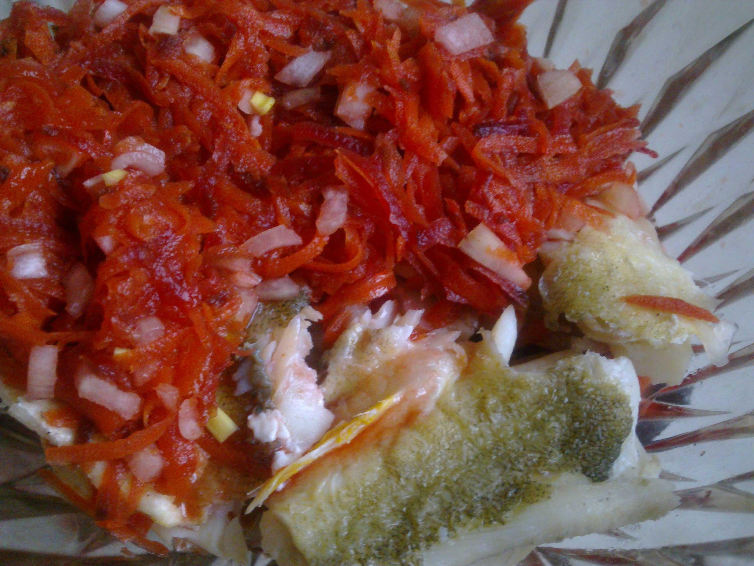 Салат рыба под маринадом рецепт пошагово в