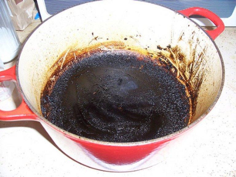 как отмыть пригоревшую кастрюлю, рис.4