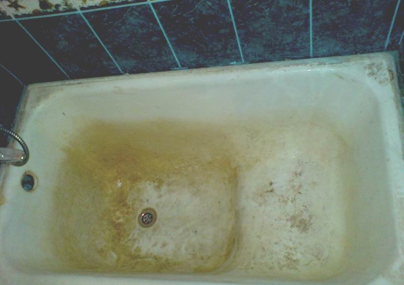как очистить ванну, рис.1