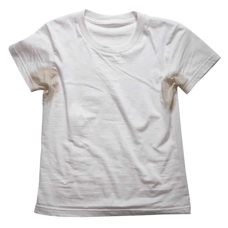 как удалить желтые пятна на одежде